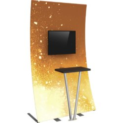 portable tv stand for events
