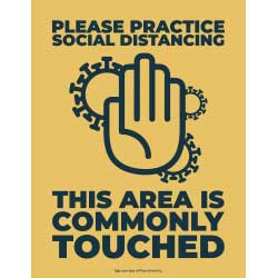 This Area is Commonly Touched